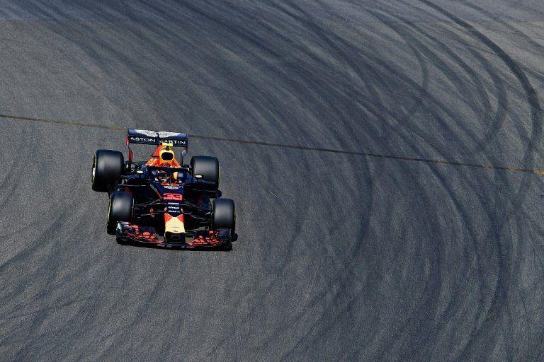 Los Red Bull dominan los libres en Alemania antes de la lluvia del sábado