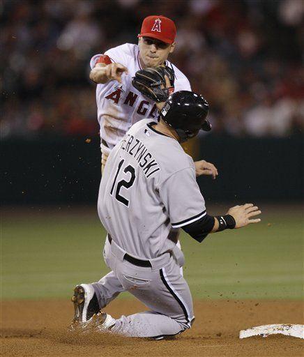MLB: Angelinos 2, Medias Blancas 0