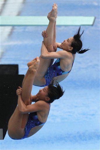 China gana primer oro en clavados del mundial de natación