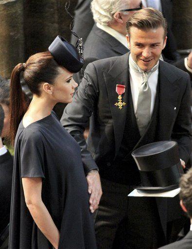 Los Beckham tienen una niña