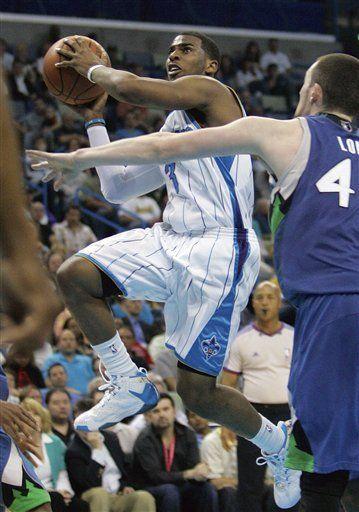 NBA: Hornets 94, Timberwolves 93; Paul suma 26 puntos