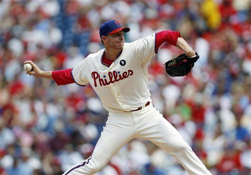 MLB: Filis 5, Padres 3; Halladay se recupera de breve salida