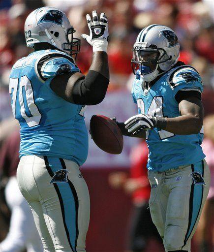 NFL: Panthers 28, Buccaneers 21; Carolina sale a correr