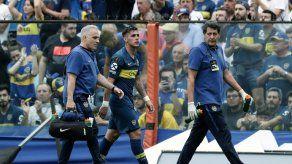 Pavón desgarrado en duda para final de Libertadores River-Boca en Argentina