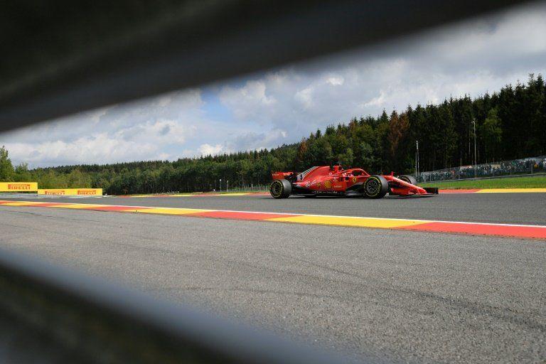 Vettel (Ferrari), el más rápido en primeros libres del GP de Bélgica
