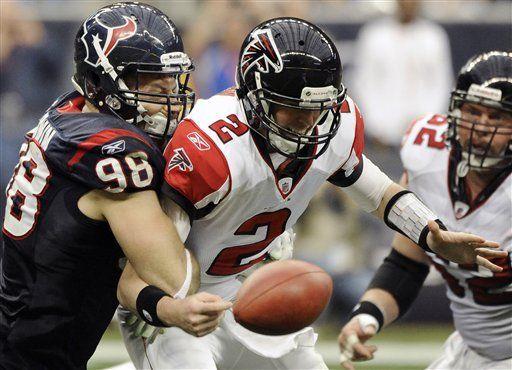NFL: Texans 17, Falcons 17; Houston liga seis triunfos al hilo