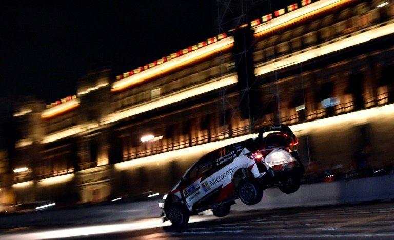 Finlandés Hänninen sorprende a todos en el inicio del Rally de México