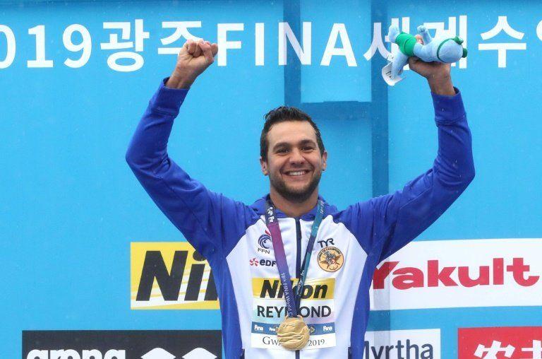 La brasileña Cunha suma su segundo oro en el Mundial de natación de Corea del Sur