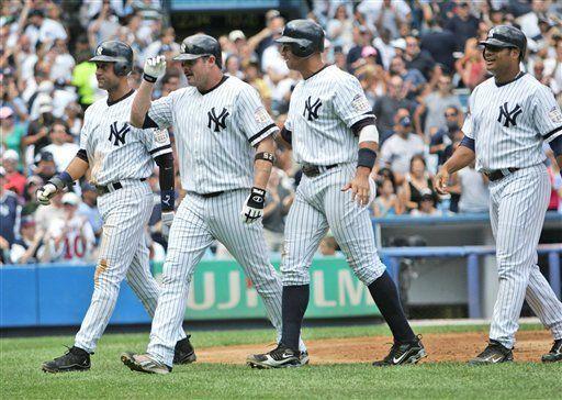 MLB: Yanquis 15, Reales 6; grand slam de Giambi