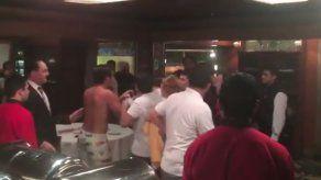 Famosos colombianos ligados a pelea en Brasil