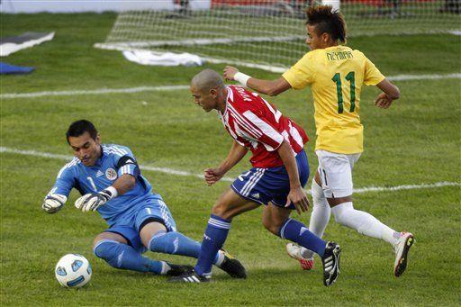 América: Brasil y Paraguay van a un alargue; 0-0