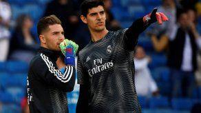 Zidane convoca a su hijo Luca ante la lesión de Courtois