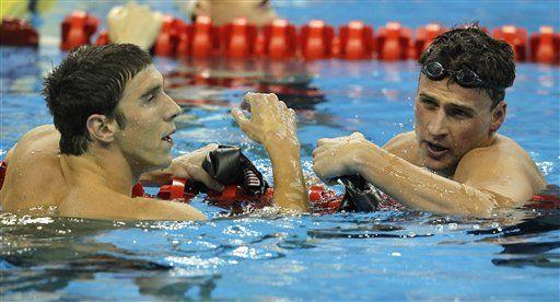 Lochte gana 200 metros estilo libre en Mundial; Phelms es segundo