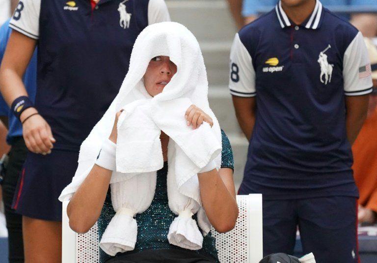 El calor y la controversia centran el US Open a la espera de Nadal y Del Potro