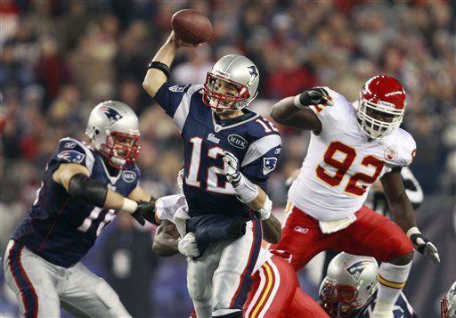 NFL: Patriots 34, Chiefs 3; Brady lanza dos pases de touchdown