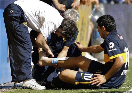 Argentina: Boca se quedaría sin Riquelme por el resto del año