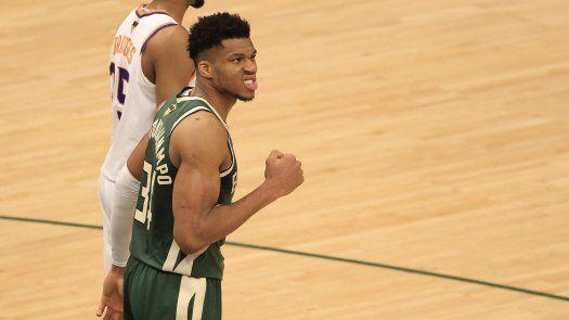 NBA: Giannis somete a los Suns y Milwaukee se acercan 2-1 en las Finales