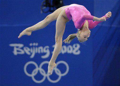 Liukin gana oro en 1-2 de Estados Unidos en gimnasia
